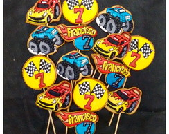 Bolachas Decoradas Hot Wheels