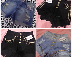Short Jeans Customizado Atacado
