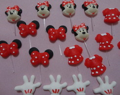 Aplique Minnie sortida para decorar doce