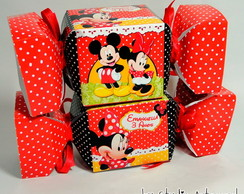 Candy Box - Caixa Bala Mickey / Minnie