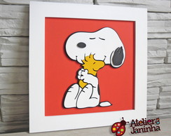 Quadrinho Baby - Snoopy + Wood