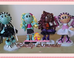 Kit bonecas Monster high