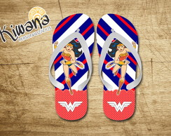 Chinelo Personalizado Wonder Woman