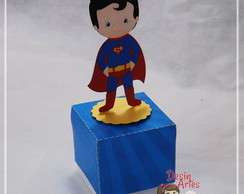 CAIXA PERSONAGEM SUPERMAN