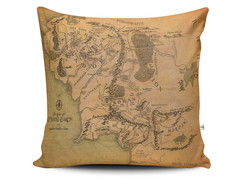 Almofada The Hobbit - Mapa