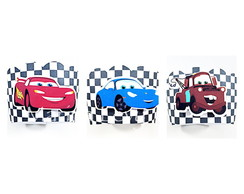 Wrapper Cupcake 3D - Carros