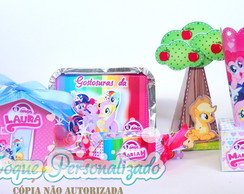 Kit festa My Little Pony 50 unidades