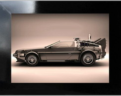 QUADRO DECORATIVO - DELOREAN