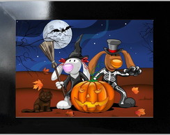 QUADRO DECORATIVO - HALLOWEEN 1