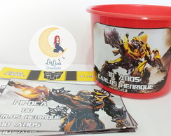 Kit Cinema Personalizado Transformers