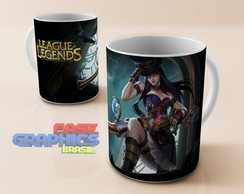 Caneca LOL CAITLYN League of Legends
