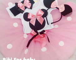 Kit Festa Minnie Rosa LOVED