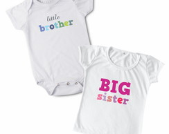 Kit Body + Baby Look Brother / Sister