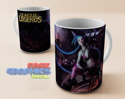 Caneca LOL JYNX League of Legends