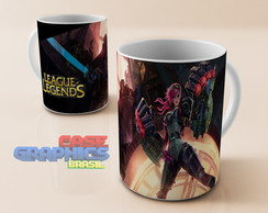 Caneca LOL VI League of Legends