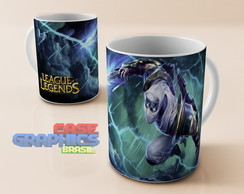 Caneca LOL ZED LAMINA League of Legends