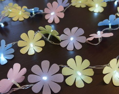 Luz De Fada Flores Candy Colors 100 Leds