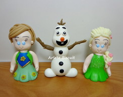 APLIQUE PERSONAGENS FROZEN FEVER