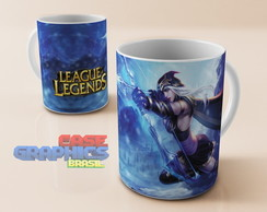 Caneca LOL ASHE League of Legends
