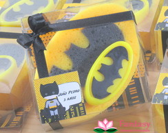 Kit Esponja com Sabonete Batman