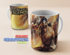 Caneca LOL DRAVEN League of Legends