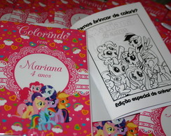 revista colorir mariloponey