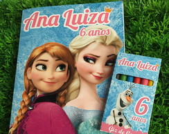 Kit de Colorir Frozen Modelo 2