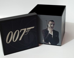Caixa MDF 007 James Bond