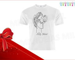 Camiseta Infantil - Anjo do Natal