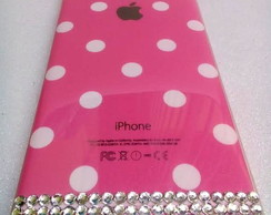 Case(Capinha) Rosa p/ Celular - Iphone 6