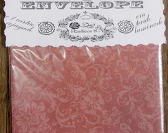 Envelope voluta rosa