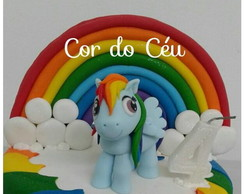 Pequeno Pony Topo Bolo Biscuit