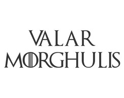 Adesivo Game of Thrones Valar Morghulis
