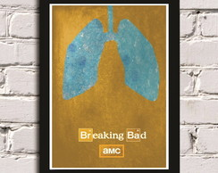 Poster com Moldura Breaking Bad 5