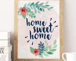 Poster Home Sweet Home (Digital)