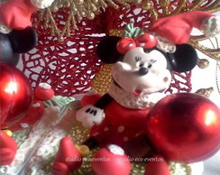 enfeite de natal - turma do mickey