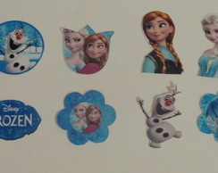 100 Toppers Frozen - **FRETE GRÁTIS**
