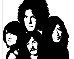 Adesivo rock heavy metal Led Zeppelin