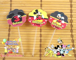 Toppers - Tags Mickey Mouse