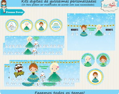 Kit de guloseimas Digital Frozen Fever