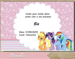 Convite My Little Pony (51)