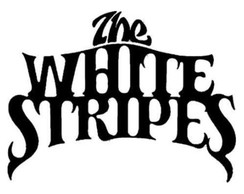 Adesivo rock heavy metal White Stripes