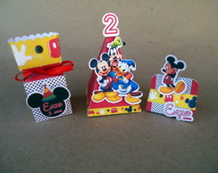 Mickey Minnie KIT CAIXAS