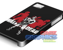 capinha celular THE WALKING DEAD 4