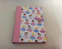 Caderno 20,5x15cm -Costura Longstitch