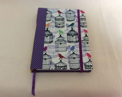 Caderno 21x2,5x15cm - Costura Longstitch