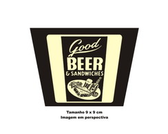 2 Porta Copos Good Beer - 849