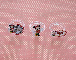 Kit-Porta-guardanapo com foto - minnie