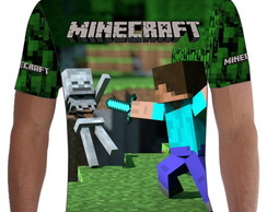 Camiseta Camisa Minecraft Total