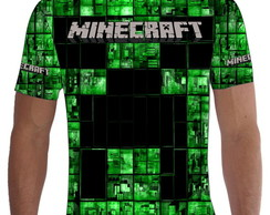 Camiseta Camisa Minecraft Total 003